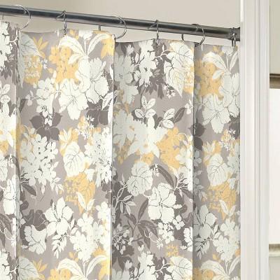 purple yellow shower curtain target