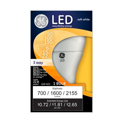 GE 50/150 3way SW LED
