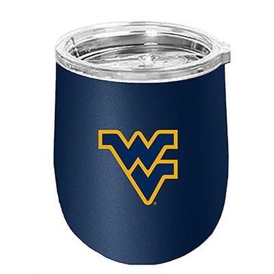 NCAA West Virginia Mountaineers Small Wine Goblet
