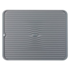 Kitchen Dish Drying Mat Corner Nook Table Oxo Silicone Gray Large Target