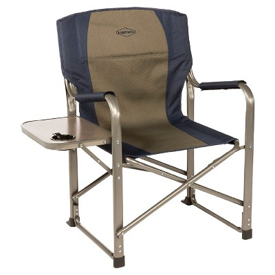 outdoor folding chair with side table walmart glider rocking kamprite director s target about this item