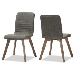 Dining Chairs Fabric Garden Swing Chair With Stand Sugar Mid Century Retro Modern Scandinavian Style Upholstered Walnut Wood Finishing Set Of 2