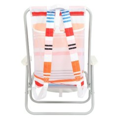 Backpack Beach Chair Target Swing Hong Kong Peach Stipe Evergreen