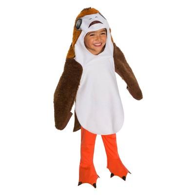 Star Wars The Last Jedi Kids' Deluxe Porg Halloween Costume - XS