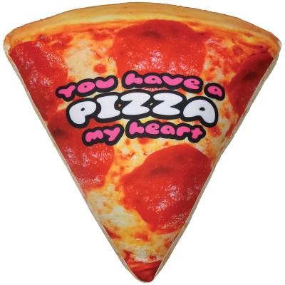 pizza microbead pillow