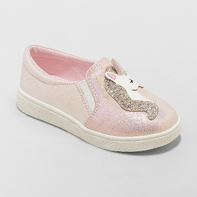 Toddler Girls' Macia Unicorn Sneakers - Cat & Jack™ Pink