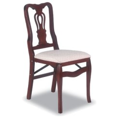 Queen Ann Chairs Desk Chair With Arms No Wheels 2 Piece Anne Folding Cherry Stakmore Target About This Item