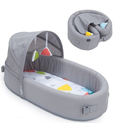 Lulyboo Portable Baby Bassinet To-Go Infant Travel Bed