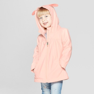 Toddler Girls' Bunny Rain Jacket - Cat & Jack™ Pink