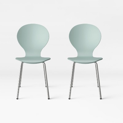 stackable chairs for less french barrel chair goddard modern stacking set of 2 project 62 target