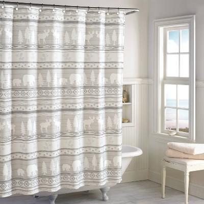 saranac shower curtain natural destinations