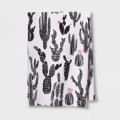 cactus prints kitchen towel