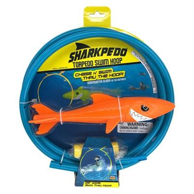 Sharkpedo Torpedo Swim Hoop (Underwater Glider and Swim Thru Hoop)