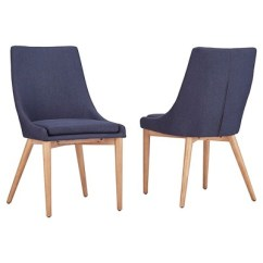 Mid Century Barrel Dining Chair Easy To Clean High Sullivan Oak Back Set Of 2 Inspire Q