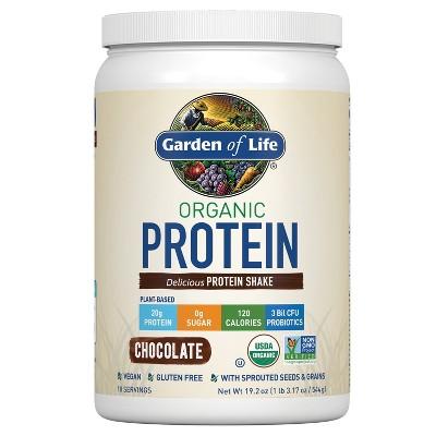 Garden Of Life Organic Protein Powder - Chocolate - 19.2oz ...