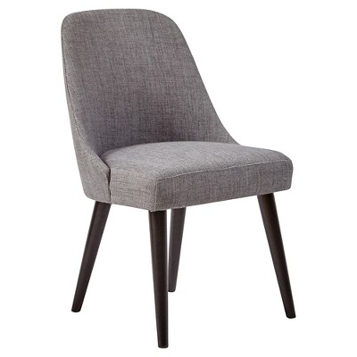 gray dining chair outdoor folding lounge american retrospective upholstered set of 2 jofran inc