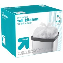 Tall Kitchen Bags Building A Cabinet Flap Tie Trash 13 Gallon 110ct Up Target About This Item