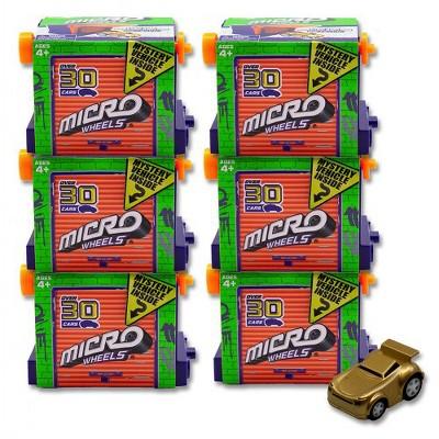 License 2 Play Micro Wheels Mini Motorized Machines Blind Pack - 6 Pack