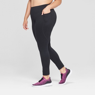 "Women's Plus Size Studio Mid-Rise Leggings 25""- C9 Champion®"