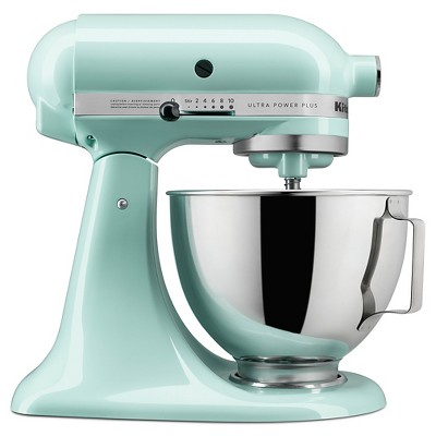 kitchen aid mixers rectangle table with bench kitchenaid ultra power plus 4 5qt tilt head stand mixer ksm96 target
