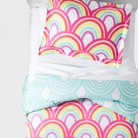 Rainbow Comforter Set (Full/Queen) - Pillowfort : Target
