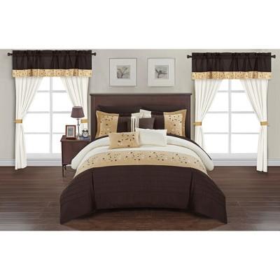Sonjae Bed in A Bag Comforter Set - Chic Home