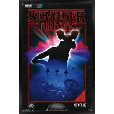 stranger things demogorgon framed poster trends international