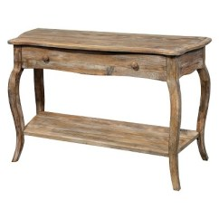 Target Sofa Table Espresso Low Height 42 Console Driftwood Alaterre