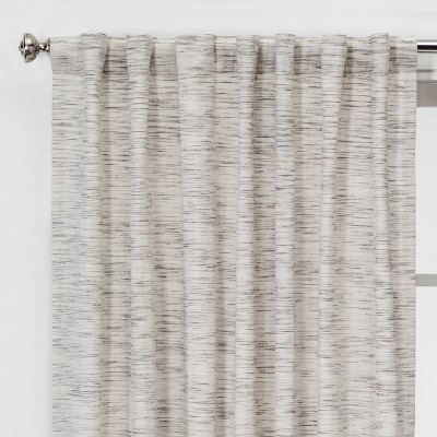 Striation Herringbone Light Filtering Curtain Panels - Project 62™