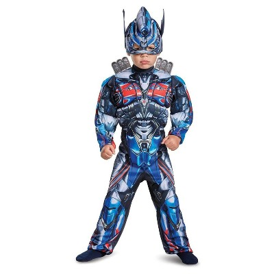 Kids' Transformers - Optimus Prime Toddler Muscle Costume 3T-4T