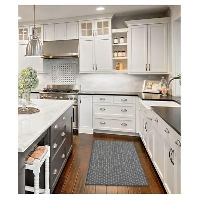 kitchen rug industrial lights gray dot 1 8 x2 10 room essentials target