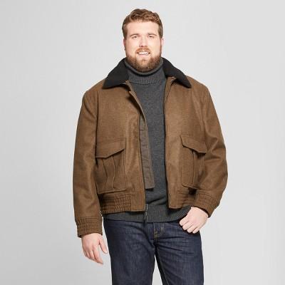 Men's Big & Tall Bomber Jackets - Goodfellow & Co™ Green Heather