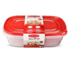 Rubbermaid Kitchen Storage Containers Cabinets Prices Takealongs Food Container 1gal 2pk Target About This Item