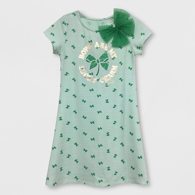 Girls' JoJo Siwa St. Patrick's Day Dress - Mint Green