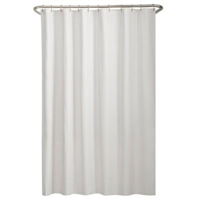 Water Repellant Fabric Shower Liner - Maytex