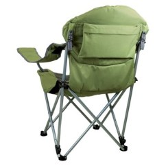 Baby Camp Chair Garden Table Picnic Time Reclining With Carrying Case Sage Green Dark Gray 12 5 Lb Target