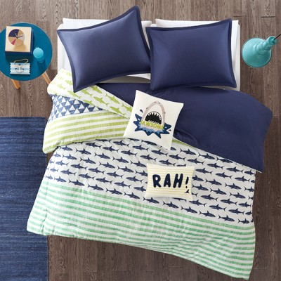 Luke Cotton Duvet Cover Set