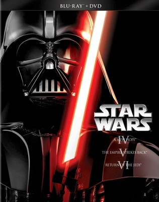 Star Wars Trilogy: Episodes IV-VI [6 Discs] [Blu-ray/DVD]
