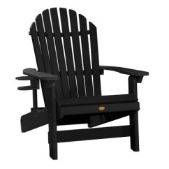 Highwood Adirondack Chair Contemporary Accent Chairs For Living Room King Hamilton Folding Reclining With Easy Add Cup Holder
