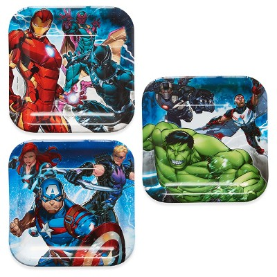 "Avengers 7"" Paper Plates - 8ct"