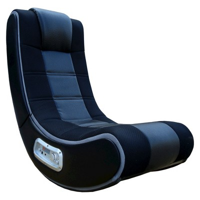 gaming chairs outdoor folding rocking 28 v rocker se chair black gray x target