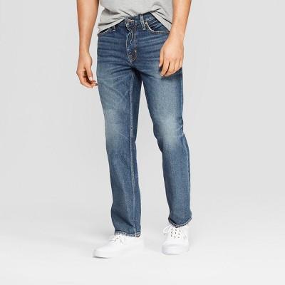 Men's Straight Fit Jeans - Goodfellow & Co™ Medium Vintage Wash