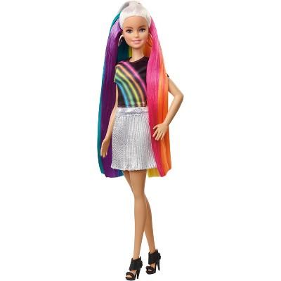 barbie rainbow sparkle hair