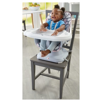 fisher price spacesaver high chair cover folding pub chairs perfect petals target shop all