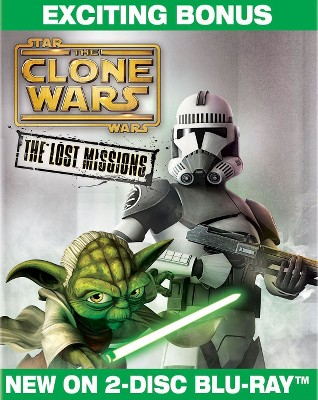 Star Wars: The Clone Wars - The Lost Missions [2 Discs] [Blu-ray]