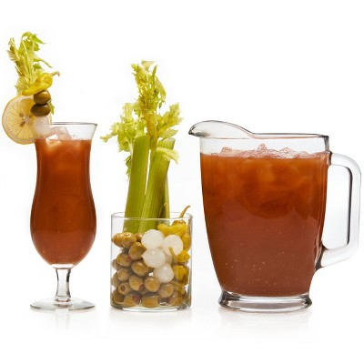 Libbey Modern Bar Assorted Bloody Mary Glass Entertainment - 10pc Set