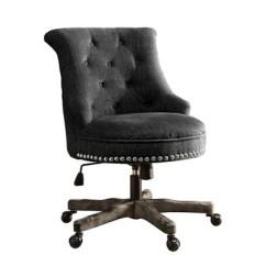 Turquoise Desk Chair Target Swivel Walmart Sinclair Office Linon