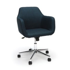 Chair With Wheels B And Q Garden Covers Upholstered Adjustable Home Office Ofm Target
