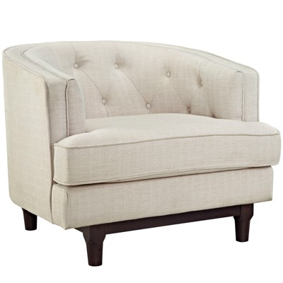 Coast Upholstered Armchair - Modway