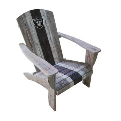 Oakland Raiders Chair Folding Replacement Feet Nfl Wooden Adirondack Target About This Item
